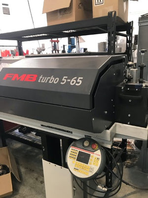 Edge Technologies FMB Turbo 5-65 Bar Feeder, 2018