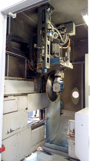 2008 WEINMANN Saw Centre Profiline 5 Axis Optimizing Saw & Router - WBS 120/06