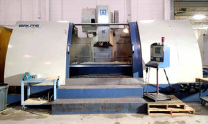 "Brute 8740-V Vertical Machining Center- 87"" x 40"" Table, 50 Taper"