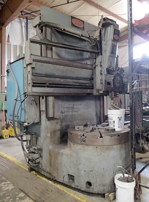 "Bullard 46"" Dynatrol Vertical Turret Lathe- Turret Head, Side Head"