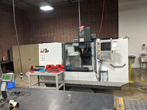 Haas TM-3P VMC, 2014- WIPS, Rigid Tapping