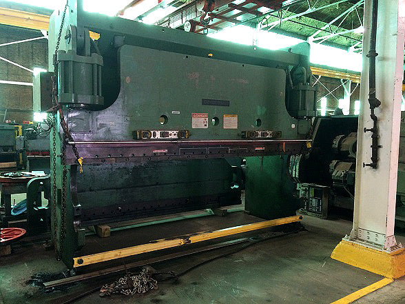 350 Ton x 14' Cincinnati CB350 Press Brake, 1983