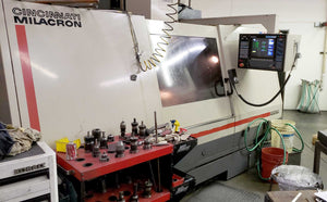 Cincinnati Milacron Sabre 1000 Vertical Machining Center, 1994- 8k Spindle
