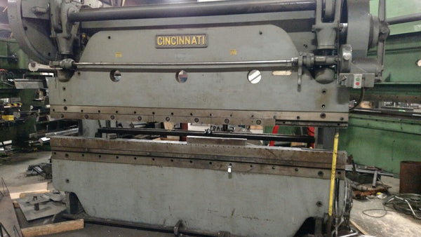 Cincinnati 50B Mechanical Press Brake, 90 Ton x 10', 2 Axis Programmable Backgauge