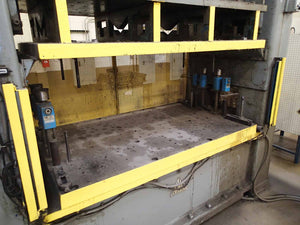 "Clearing R-125-84  125 Ton Press- 84"" Bed"