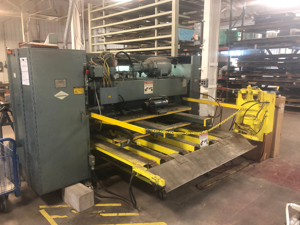 Cincinnati 10 Gauge x 6ft Model 1350 Shear, Year 1990
