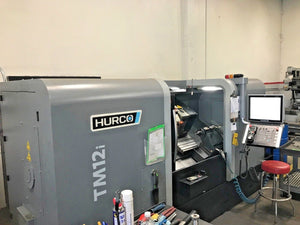 "2016 Hurco TM12i- 12"" Chuck,4"" Bar Cap, Chip Conveyor, Tool Presetter and more!"
