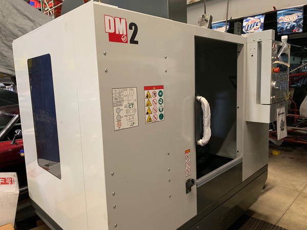 HAAS DM-2 VMC, 2018 - TSC Capable, Zero Hours