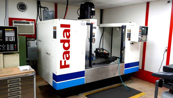 Fadal 4020HT (Rebuilt 2014) 4 Axis VMC - Fadal Rotary Table, Rigid Tapping