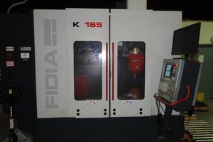 Fidia K165 Vertical Machining Center, 2003 - Equipped with 5th axis