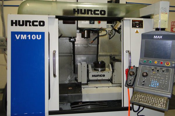 Hurco VM10U Vertical Machining Center, 2009 - Equipped with 5th axis