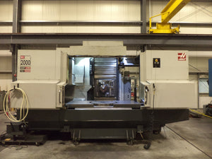 Haas EC 2000 Horizontal Machining Center, 2010