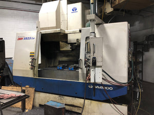 Daewoo / Doosan DMV 5025/50 VMC 2004 - 50 Taper, Tooling Included