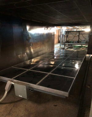 PVI 8'x20' Double Station Thermoformer