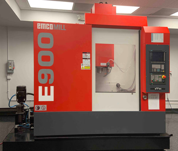 Emco Emcomill E900 VMC, 2014 - Siemens 828D, Excellent Condition