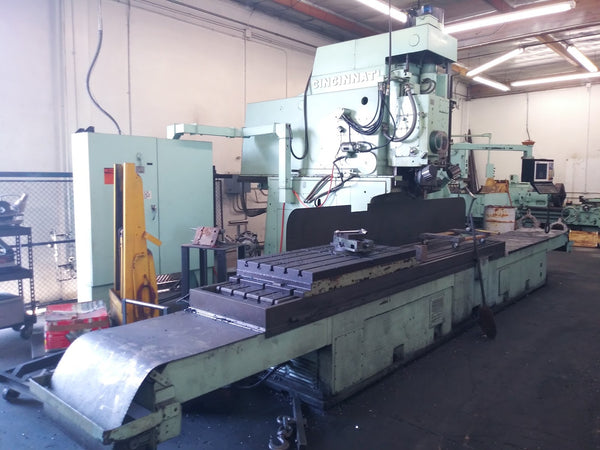"120"" Cincinnati CNC Vertical Mill"