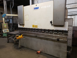 2004 Ermak CNC Hydraulic 88 Ton x 10' Press Brake