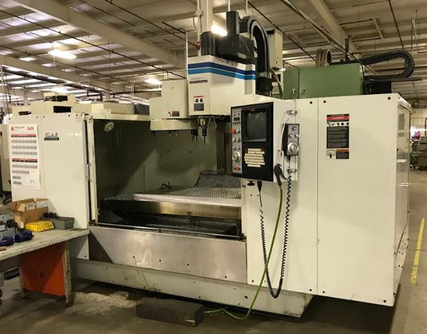 Fadal VMC 6030 HT, 1997 - Wired for 4th Axis