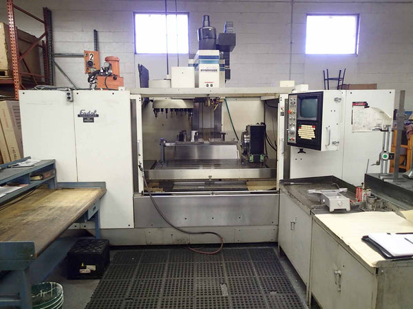 Fadal 6030 HT Vertical Machining Center, 1995- 4th Axis Table, Clean