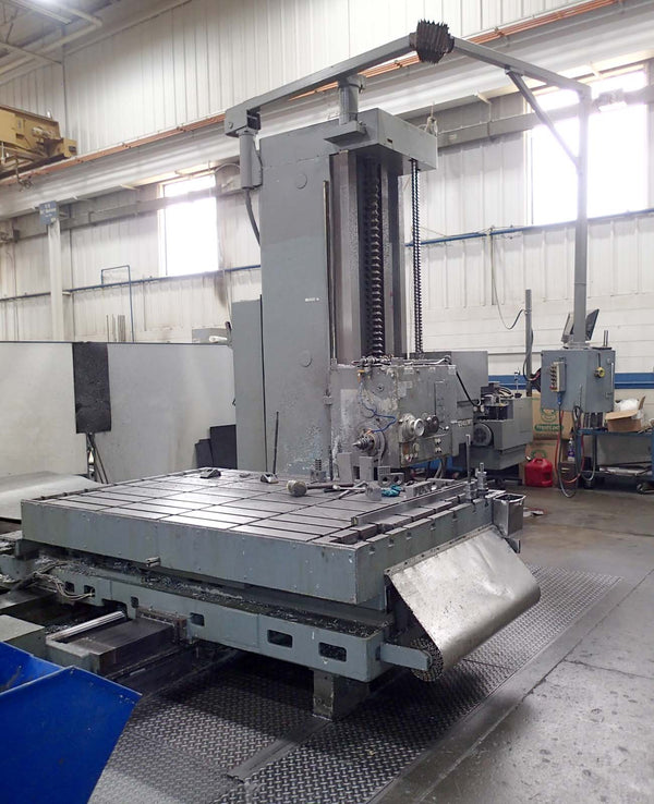 "Giddings & Lewis 6"" Boring Mill- Dynapath CNC, 98"" x 60"" Table"