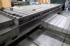 "Giddings & Lewis 70-H6-T  CNC Horizontal Boring Mill- 6"" Spindle, 60"" x 144"" Table, Great Condition!"