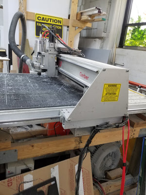 "30"" x 36"" Gerber Dimensions 200 Router Table, New Liquid Cooled Spindle"