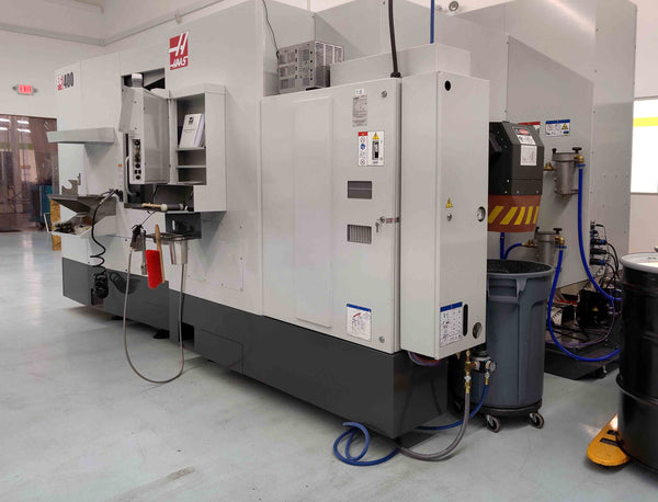 Haas EC-400 Horizontal Machining Center, 2019 - TSC, WIPS, HSM, 100 ATC