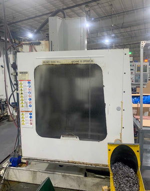Haas VF-4 Vertical Machining Center, 1997- 10k Spindle, Auger