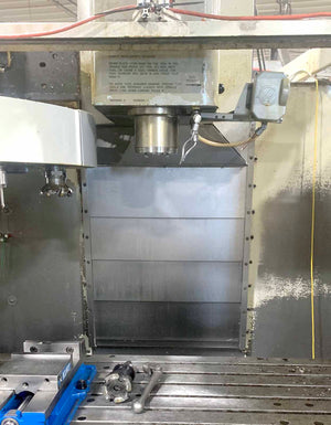 Haas VF-4 Vertical Machining Center, 1998- TSC, 32 Tool ATC, Upgraded Control