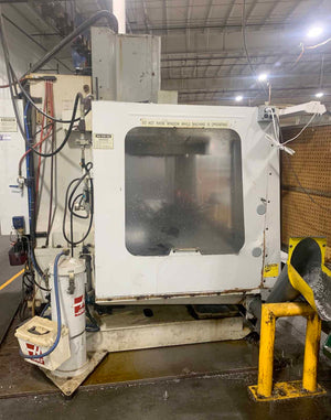 Haas VF-4 Vertical Machining Center, 1998- TSC, 32 Tool ATC, 10k Spindle