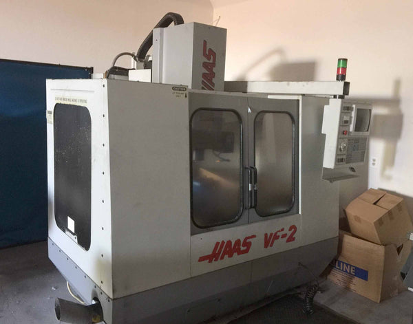 1995 Haas VF-2 Vertical Machining Center Auger Programmable Coolant