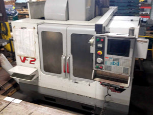 2001 Haas VF-2 D Vertical Machining Center- Side Mount ATC