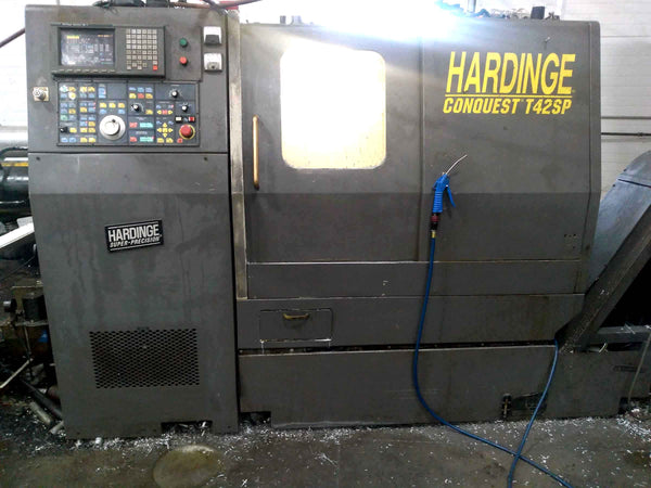 Hardinge Conquest T42SP  Super Precision CNC Lathe- Live Tools, Subspindle, Full C-Axis, Fanuc