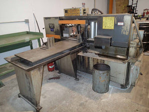 "Hem 1200A Horizontal Band Saw - Auto Feed, 16"" x 14"""