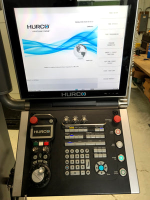 2016 Hurco VM10i - Winmax, DXF, Tool Material Library