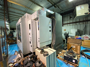 Haas VF-6/40 Vertical Machining Center (VMC), 2014 - Haas HRT-450 Rotary Table, Renishaw Wireless Intuitive Probing System (WIPS), and Through-Spindle Coolant