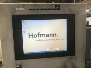 Hofmann PCHV-30.1 Vertical Hard Bearing, Dynamic, Single Plane Precision Balancing Machine