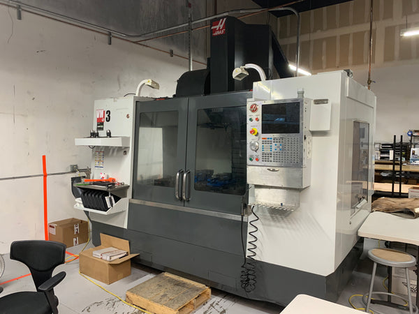 Haas VM-3 VMC, 2013 - Loaded With Options
