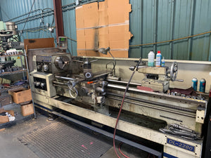 Birmingham DL2280 Lathe, 2005 - Tailstock, DRO, Tooling Included