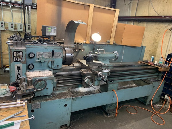 Standard Modern 1980 - Chuck, Tailstock, Digital Read Out, Video