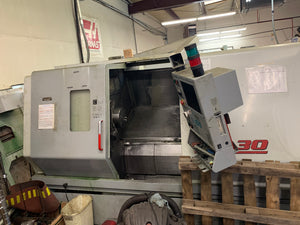 Haas SL-30T 2001 - Live Tooling - Parts Machine
