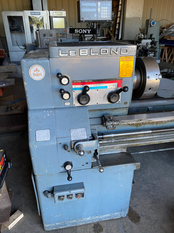 "Leblond Regal 19"" x 80"" Lathe"