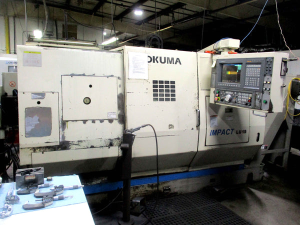 2000 Okuma LU-15 with IEMCA Master 880r P-E Barfeed