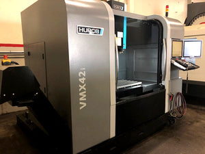 2016 Hurco VMX 42i - 4 Axis - Ultipocket, DXF, Tool and Material Library