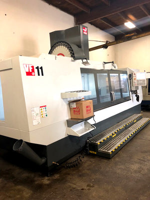 2018 Haas VF-11/50 - 4th Axis Ready, TSC, Probing System, High Speed Machining