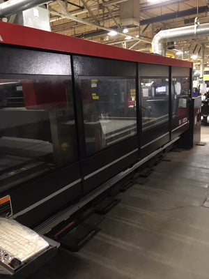 4000 Watt Amada FOM2-422NT CO2 Laser, 2014 - 7' X 13' Table