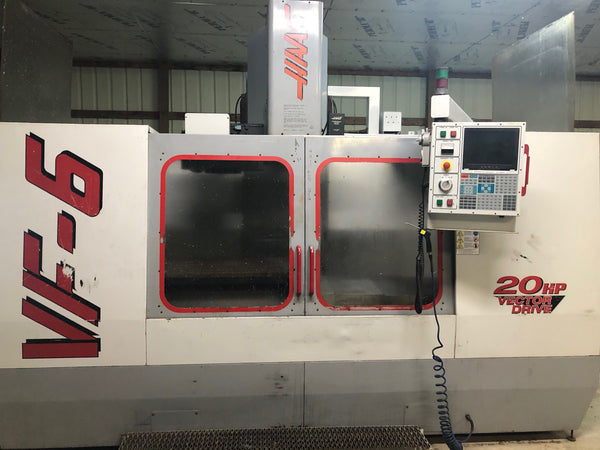 1998 Haas VF-6 Vertical Machining Center, 4th Axis Ready, Programmable Coolant