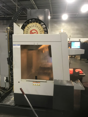 HAAS VF-2SS VMC 2010 - 2000 Hours Cut Time, Only Cut Aluminum