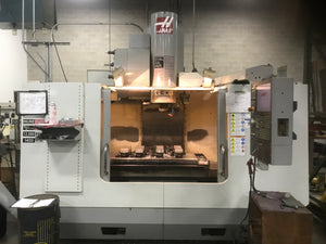 Haas VF-4SS VMC, 2008 - Only Cut Aluminum