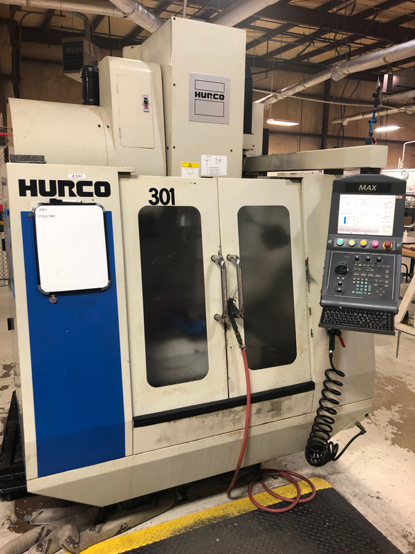 Hurco VM-1 VMC, 2007 - Under Power, Medical, Video